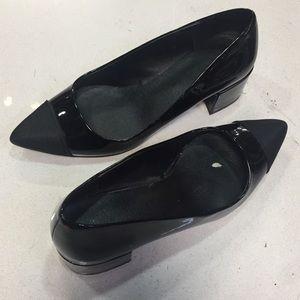 Zara Black Patent Heels size 35